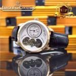 JAEGER-017-2 新款商務精英男士土豪金藍寶石鏡面自動機械腕錶