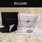 Bvlgari-0010-1 人氣熱銷寶格麗新款雙層原版皮長方形單肩斜背包