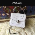 Bvlgari-0011-1 人氣熱銷寶格麗原版皮手提單肩斜背包