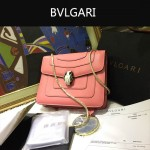 Bvlgari-009-4 名媛必備寶格麗新款原版皮單肩斜背包