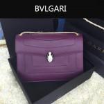 Bvlgari-0010-7 人氣熱銷寶格麗新款雙層原版皮長方形單肩斜背包