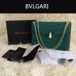 Bvlgari-0010 人氣熱銷寶格麗新款雙層原版皮長方形單肩斜背包