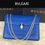 Bvlgari-0010-4 人氣熱銷寶格麗新款雙層原版皮長方形單肩斜背包
