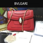 Bvlgari-009-7 名媛必備寶格麗新款原版皮單肩斜背包