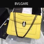 Bvlgari-0010-6 人氣熱銷寶格麗新款雙層原版皮長方形單肩斜背包