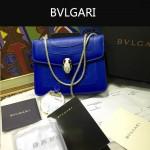 Bvlgari-009-2 名媛必備寶格麗新款原版皮單肩斜背包