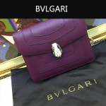 Bvlgari-009-5 名媛必備寶格麗新款原版皮單肩斜背包