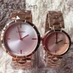 CK-03-9 人氣熱銷單品玫瑰金系列白色情侶款進口石英腕錶