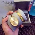 CK-05-4 潮流百搭個性土豪金橢圓形手鐲款石英腕錶