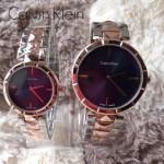 CK-03-13 人氣熱銷單品間玫瑰金系列藍色情侶款進口石英腕錶