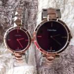 CK-03-14 人氣熱銷單品間玫瑰金系列黑色情侶款進口石英腕錶