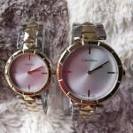 CK-03-15 人氣熱銷單品間土豪金系列白色情侶款進口石英腕錶