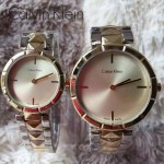 CK-03-3 人氣熱銷單品間金系列土豪金情侶款進口石英腕錶