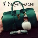 YSL 02-4 潮流經典款女士綠色牛皮手提單肩包通勤包