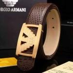 Armani-202 阿瑪尼原版皮皮帶新款腰帶