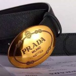 PRADA-50 普拉達原版皮皮帶新款腰帶