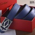 Cartier-407 卡地亞原版皮皮帶新款腰帶