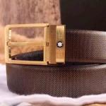 Montblanc-301 萬寶龍原版皮皮帶新款腰帶