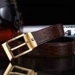 Montblanc-303 萬寶龍原版皮皮帶新款腰帶