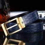 Montblanc-305 萬寶龍原版皮皮帶新款腰帶