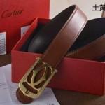 Cartier-406 卡地亞原版皮皮帶新款腰帶
