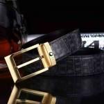 Montblanc-304 萬寶龍原版皮皮帶新款腰帶