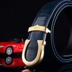 Cartier-409 卡地亞原版皮皮帶新款腰帶