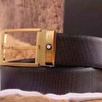Montblanc-302 萬寶龍原版皮皮帶新款腰帶
