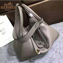 HERMES-00027-1 秋冬新款HERMES琳迪包LINDY系列原版TOGO皮手提單肩包