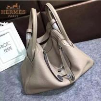 HERMES-00027-2 秋冬新款HERMES琳迪包LINDY系列原版TOGO皮手提單肩包
