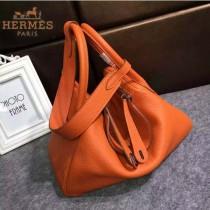 HERMES-00027-4 秋冬新款HERMES琳迪包LINDY系列原版TOGO皮手提單肩包