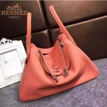 HERMES-00027-6 秋冬新款HERMES琳迪包LINDY系列原版TOGO皮手提單肩包