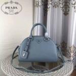 PRADA-006-1 秋冬新款普拉達新款進口牛皮手提斜背包