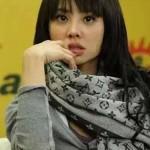 LV圍巾-3-4 時尚經典款蔡依林系列原單黑灰色羊絨真絲圍巾披肩