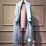 CHLOE圍巾-1 克洛伊超火爆女士原單雙面水貂絨長款外套披肩
