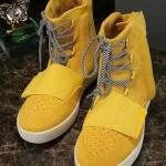 Adidas 阿迪達斯-10-3 潮流炫酷侃爺椰子Yeezy 750 Boost運動高幫休閑鞋