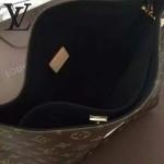 LV M41620-2 專櫃最新款女士GAIA經典老花配黑色內裡手提單肩包購物袋