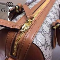 GUCCI 409529-5 秋冬時尚新款PVC配牛皮枕頭包