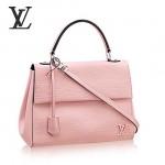 LV M41305-4 時尚新款Cluny系列淺粉色水波紋小號手袋