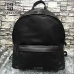GIVENCHY-0010 人氣熱銷新款原單黑色全皮男女款雙肩包休閒書包
