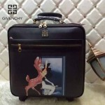 GIVENCHY-002 歐美流行波比與鹿圖案十字紋20寸登機箱拉桿箱