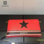 GIVENCHY-006-2 時尚商務新款五角星圖案十字紋大容量手拿包錢包