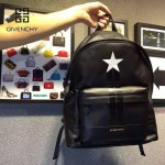 GIVENCHY-0010-2 人氣熱銷新款原單五角星圖案全皮男女款雙肩包休閒書包