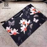GIVENCHY-008-8 歐美百搭元素蝴蝶圖案十字紋男女款手拿包