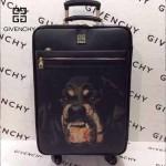 GIVENCHY-002-5 歐美流行惡犬圖案十字紋20寸登機箱拉桿箱