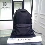 GIVENCHY-004 原單五角星圖案降落傘面料配牛皮雙肩包休閒背包