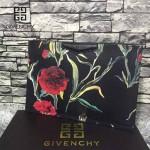 GIVENCHY-008-13 歐美百搭元素花朵圖案十字紋男女款手拿包