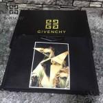 GIVENCHY-008-14 歐美百搭元素油畫圖案十字紋男女款手拿包