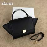CELINE 005-7 人氣熱銷時尚新款黑色原版皮小號秋千包