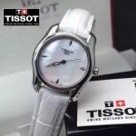 TISSOT-T023 名媛必備日本石英機芯藍寶石水晶玻璃女士腕表